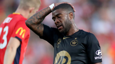 Thinking time: Roly Bonevacia is being courted by Perth Glory for next season.