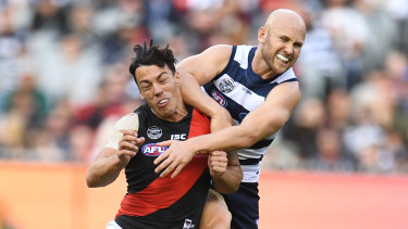 Gary Ablett was offered a one-match ban for this incident.