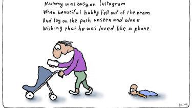 The Leunig cartoon under discussion.