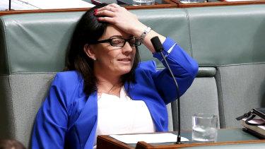 On leave: embattled Labor MP Emma Husar.