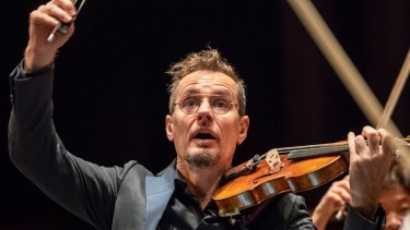The Australian Chamber Orchestra's Richard Tognetti.