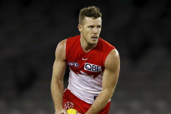 Luke Parker has signed a new four-year deal with the Swans.