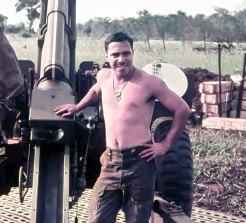 John Kinsela in Vietnam.