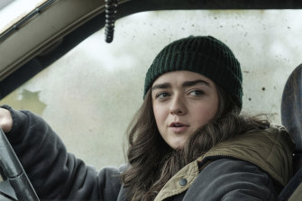 Maisie Williams in the cheerful British black action comedy Two Weeks To Live.