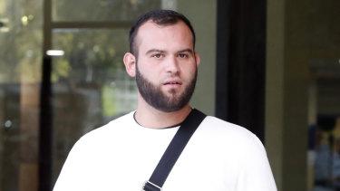 Rafat Alameddine outside court last year.