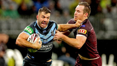 James Tedesco was a superstar again for the Blues in game two.