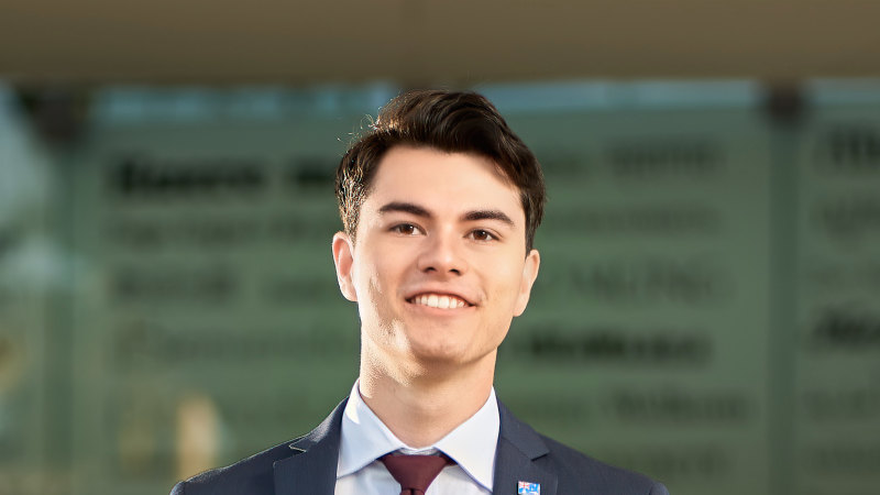 2020's youngest councillor elected in Logan as one of eight new faces