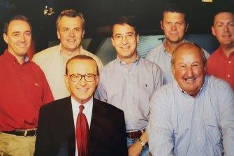 Paul Fenn with Brian Henderson and the Hendo team.