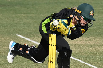 Alyssa Healy surpassed MS Dhoni's record during Australia's win over New Zealand.