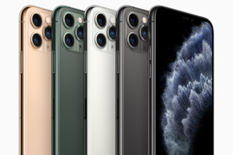 The iPhone 11 Pro and Pro Max add a third rear camera and feature higher resolution OLED screens.