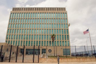 Where the syndrome first emerged: The US embassy in Havana, Cuba.
