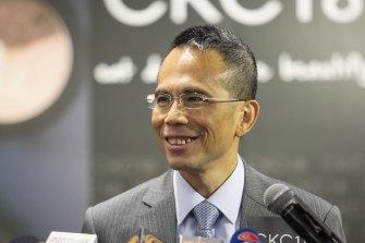 CK Hutchison Holdings chairman Victor Li.