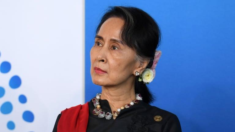 Criticism for Aung San Suu Kyi
