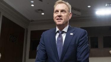 Acting US Defence Secretary Patrick Shanahan goes before the Senate Armed Services Committee to discuss the Department of Defence budget, on Capitol Hill in Washington last week.