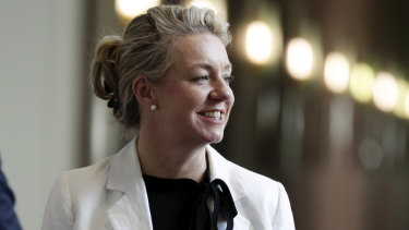 Deputy Nationals leader Bridget McKenzie.