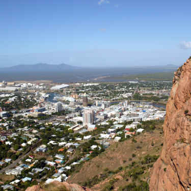 Townsville, as seen from Castle Hill.