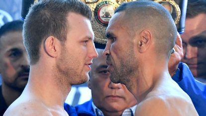 Mundine ups the antics but Fenech predicts a rough night against Horn