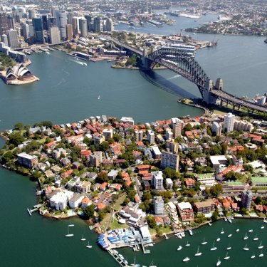 Climbing the Sydney property ladder has become more difficult.