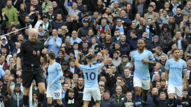 Cash crop: Manchester City may be hit with a transfer ban, but already boast a world class squad.