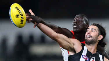 Aliir Aliir will miss the Sydney derby due to a toe injury,