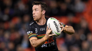 Au revoir: James Maloney will swap the foot of the Blue Mountains for the foot of the Pyrenees at the end of the year.