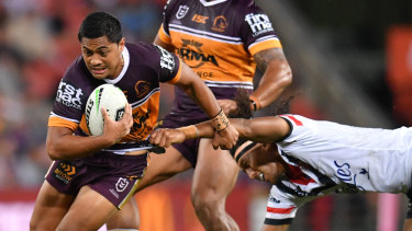 Leading light: Anthony Milford played a key role in Brisbane's win.