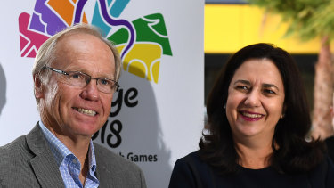 "The LNP has blasted overseas trips by Gold Coast Games executives and staff as ""junkets""."
