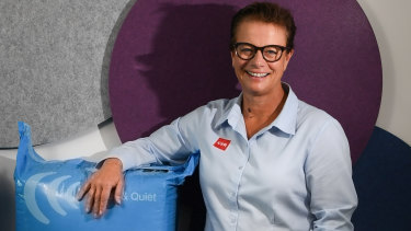 """CSR chief executive Julie Coates: """"There's more for us to do."""""""