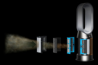 The new Dyson Hot+Cool can tell you how much formaldehyde is in your air.
