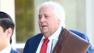 A settlement between Clive Palmer and liquidators has been reached.