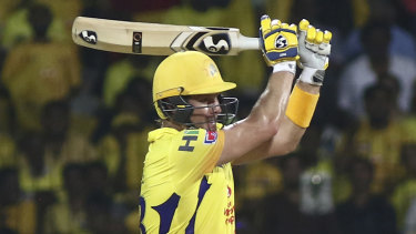 Shane Watson was on fire with the bat.