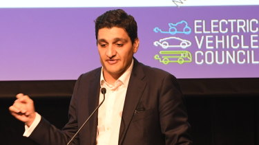 Electric Vehicle Council chief executive Behyad Jafari is trying to demystify the process of switching to EVs.