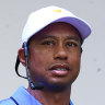 Woods coy on playing role as Els brushes off Reed drama