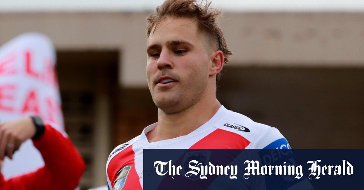 De Belin gets through first game in 987 days but NRL return next week a 'big ask' – The Sydney Morning Herald