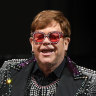 Elton's Australian game, set and match nearly over