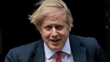 British Prime Minister Boris Johnson.