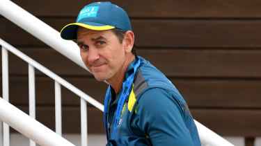 Justin Langer has come in for recent criticism over his coaching style.