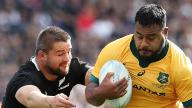 Taniela Tupou is back for the Wallabies.