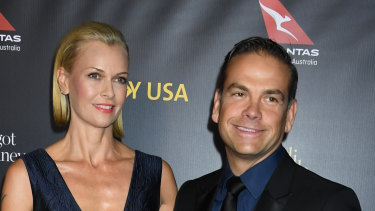 Homemakers: Sarah and Lachlan Murdoch are about to move into their flash new Bel Air digs.