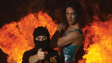 YouTube band Ninja Sex Party: Belinda Carlisle meets Van Halen.