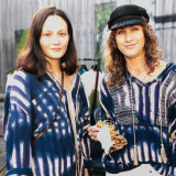 Model Rachel Rutt and One Teaspoon co-founder Jamie Blakey.