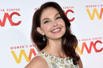 Ashley Judd in October 2017, three weeks after Jodi Kantor and Megan Twohey's New York Times investigation into Harvey Weinstein was published.