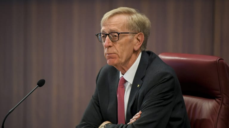 Commissioner Kenneth Hayne is due to deliver an interim report to the government by Sunday.