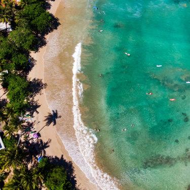 Sri Lanka's Hiriketiya Beach is a favourite of Tim Elliott.