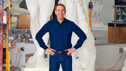 Move over, Blue Poles: Jeff Koons is about to deliver us his startling new artwork