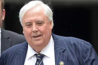 Clive Palmer has continued to spread the misleading figure on the number of deaths caused by COVID-19 vaccines.