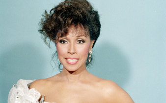 Diahann Carroll at the Emmy Awards in Los Angeles, 1987.