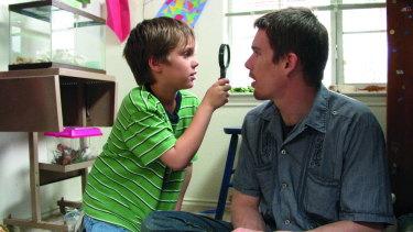 Hawke in Boyhood (2014).