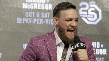 McGregor has been one of the biggest drawcards in UFC history.