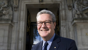 Alexander Downer was Australia's high commissioner to the United Kingdom for four years.